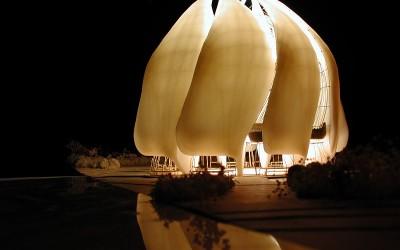 Konstrukcija kuće bogoslužja u Čileu
